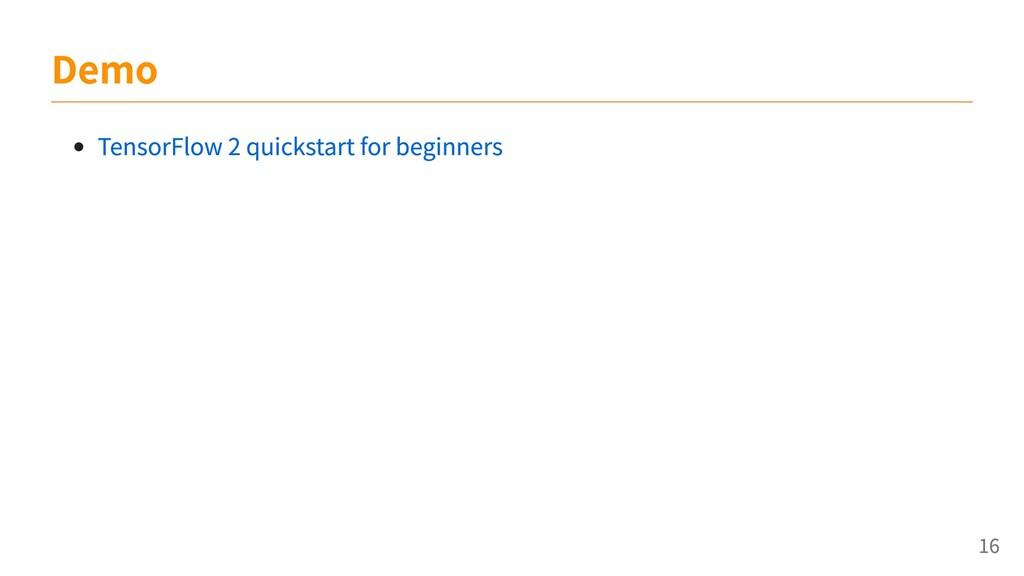 TensorFlow 2 quickstart for beginners Demo 16