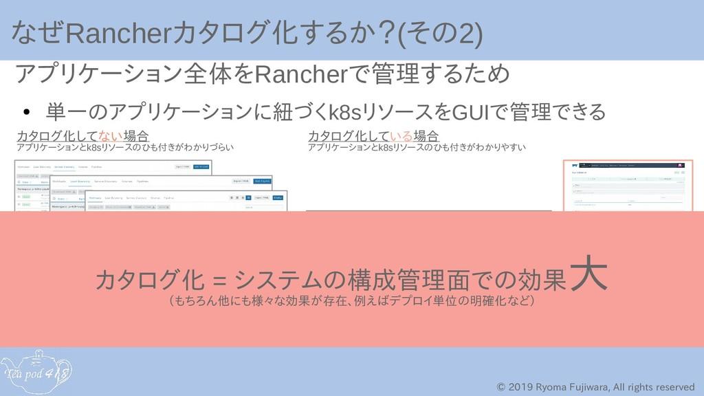 © 2019 Ryoma Fujiwara, All rights reserved なぜRa...