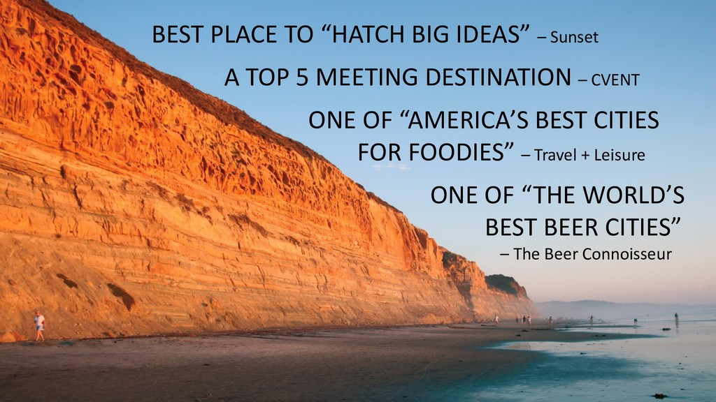 """BEST PLACE TO """"HATCH BIG IDEAS"""" – Sunset A TOP ..."""