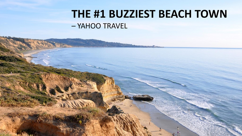 THE #1 BUZZIEST BEACH TOWN – YAHOO TRAVEL