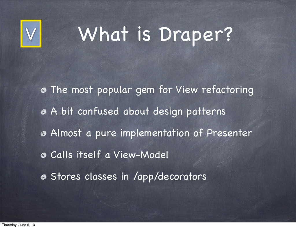 What is Draper? The most popular gem for View r...