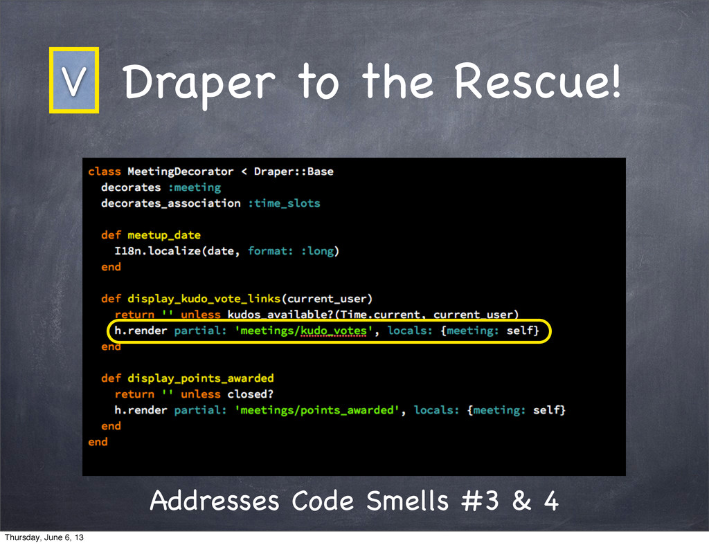Draper to the Rescue! Addresses Code Smells #3 ...