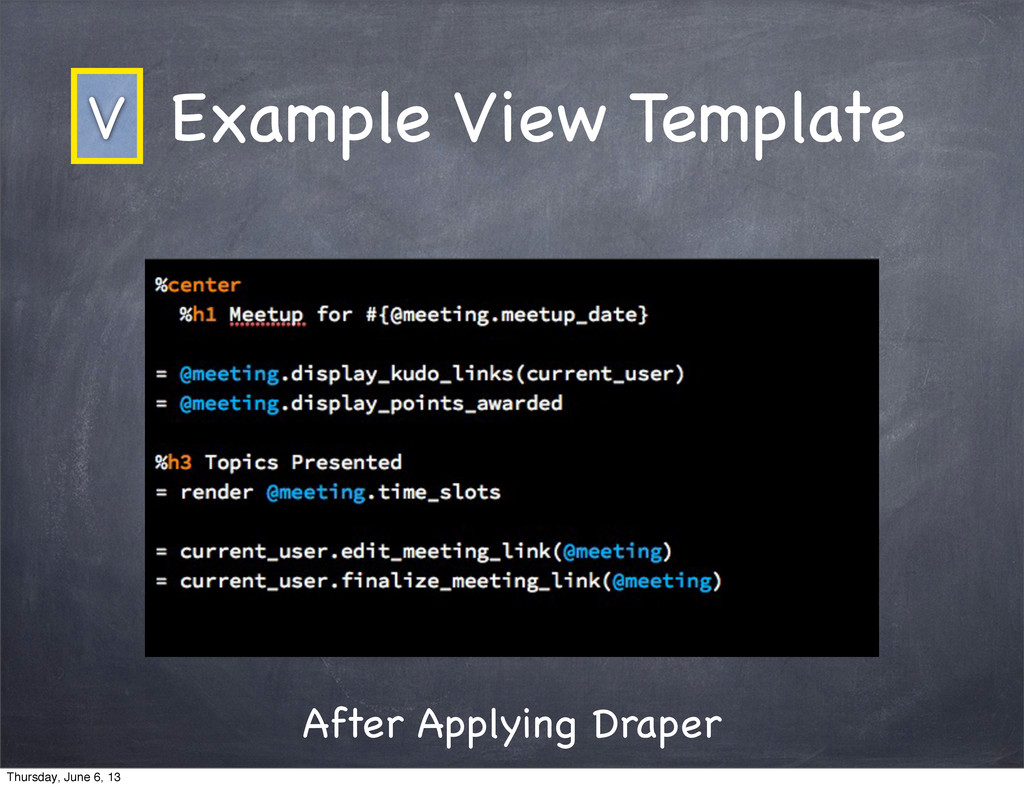 After Applying Draper Example View Template V T...