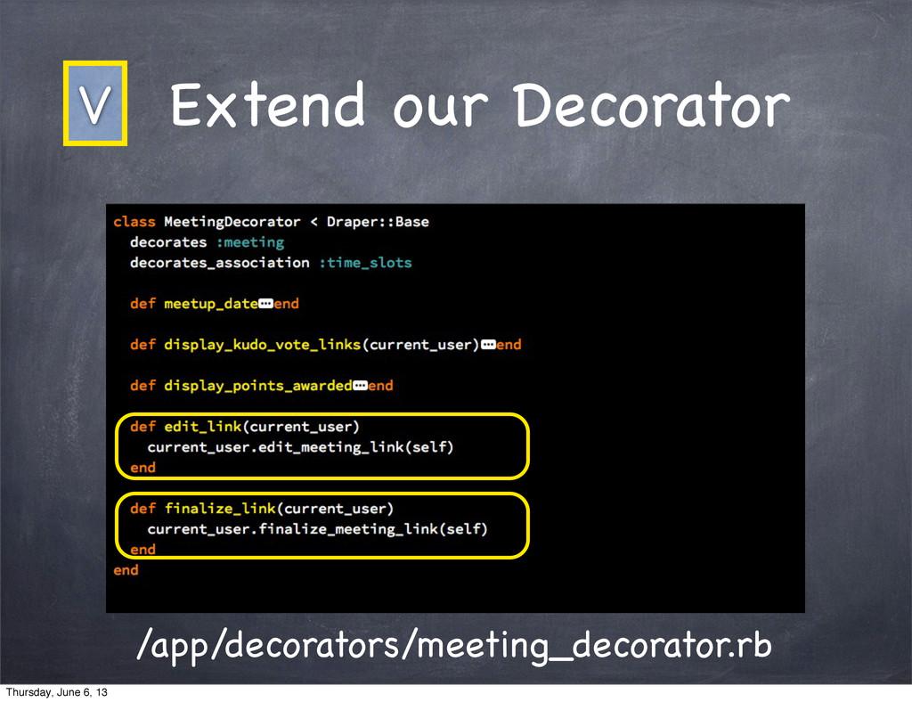 Extend our Decorator /app/decorators/meeting_de...