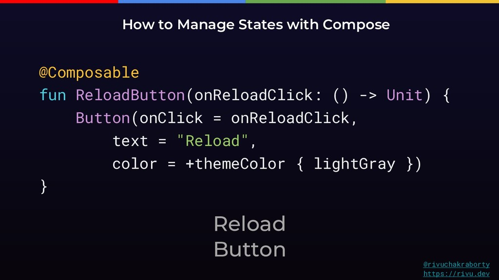 Reload Button How to Manage States with Compose...