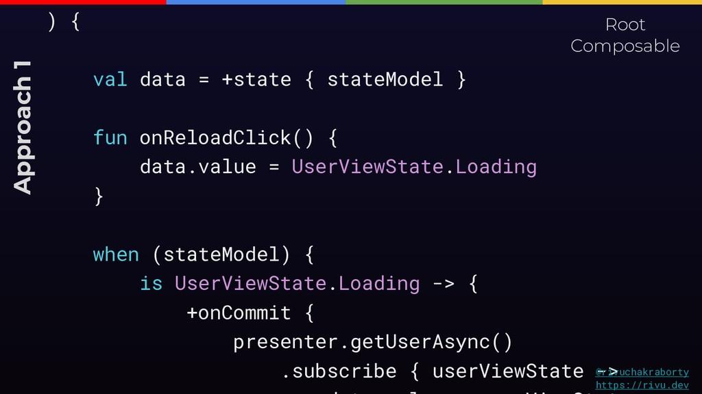 ) { val data = +state { stateModel } fun onRelo...