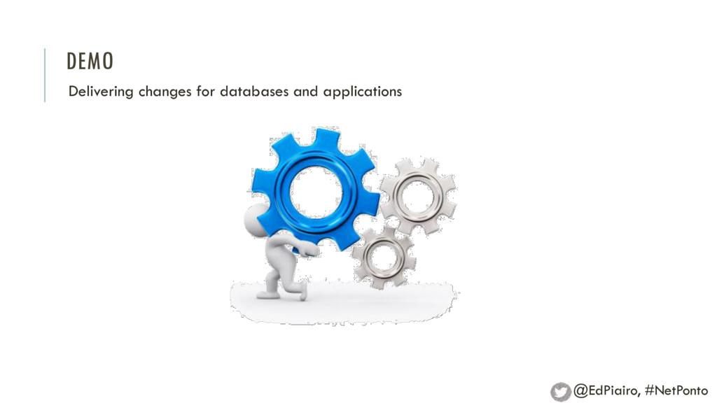 DEMO Delivering changes for databases and appli...