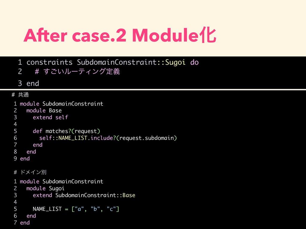 After case.2 ModuleԽ # ڞ௨ 1 module SubdomainCon...