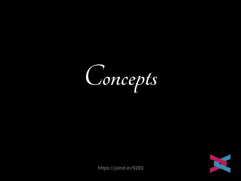 https://joind.in/9283 Concepts Mike van Riel
