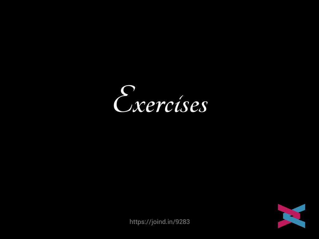 https://joind.in/9283 Exercises Mike van Riel