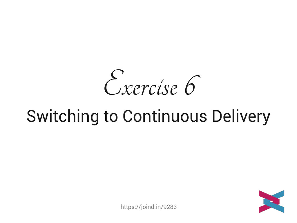 https://joind.in/9283 Exercise 6 Switching to C...
