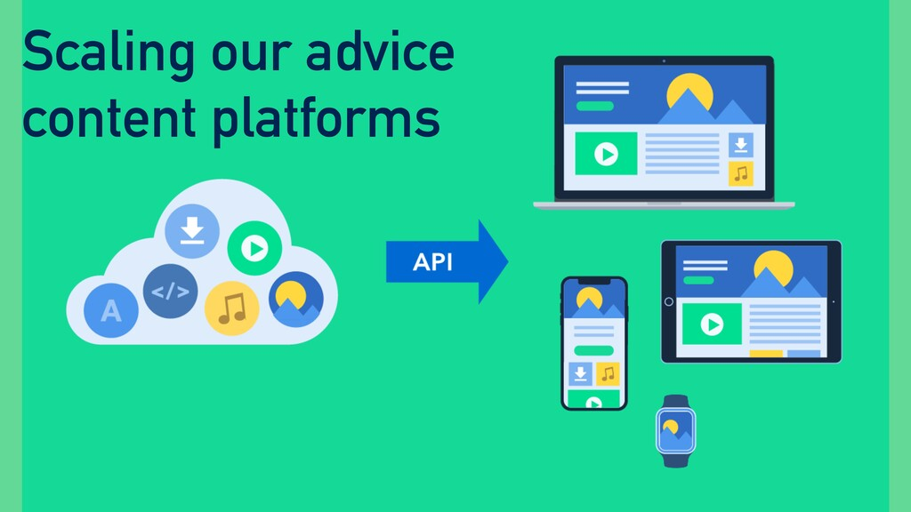 Scaling our advice content platforms