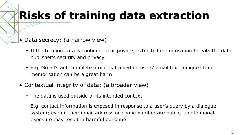 • Data secrecy: (a narrow view)   – If the trai...
