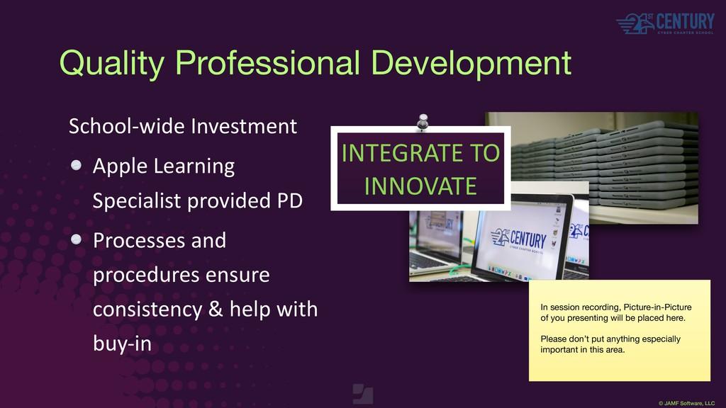 © JAMF Software, LLC School-wide Investment App...