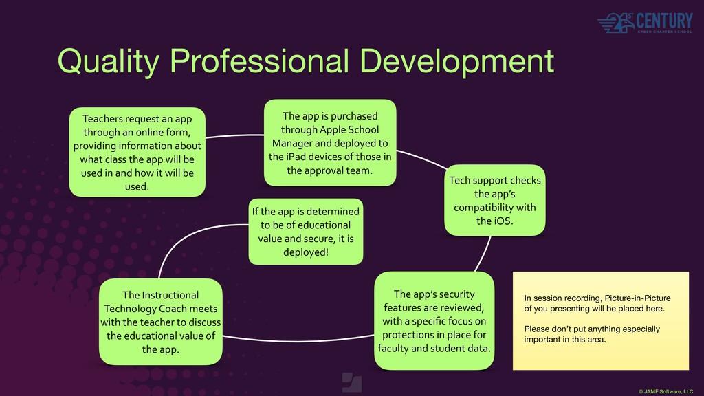 © JAMF Software, LLC Quality Professional Devel...