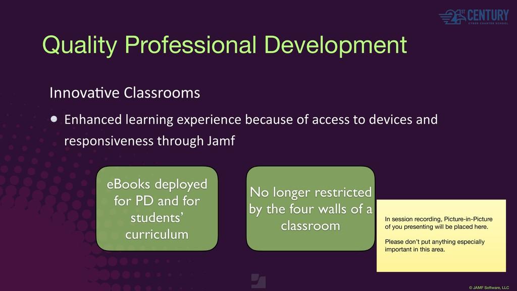 © JAMF Software, LLC InnovaEve Classrooms Enhan...