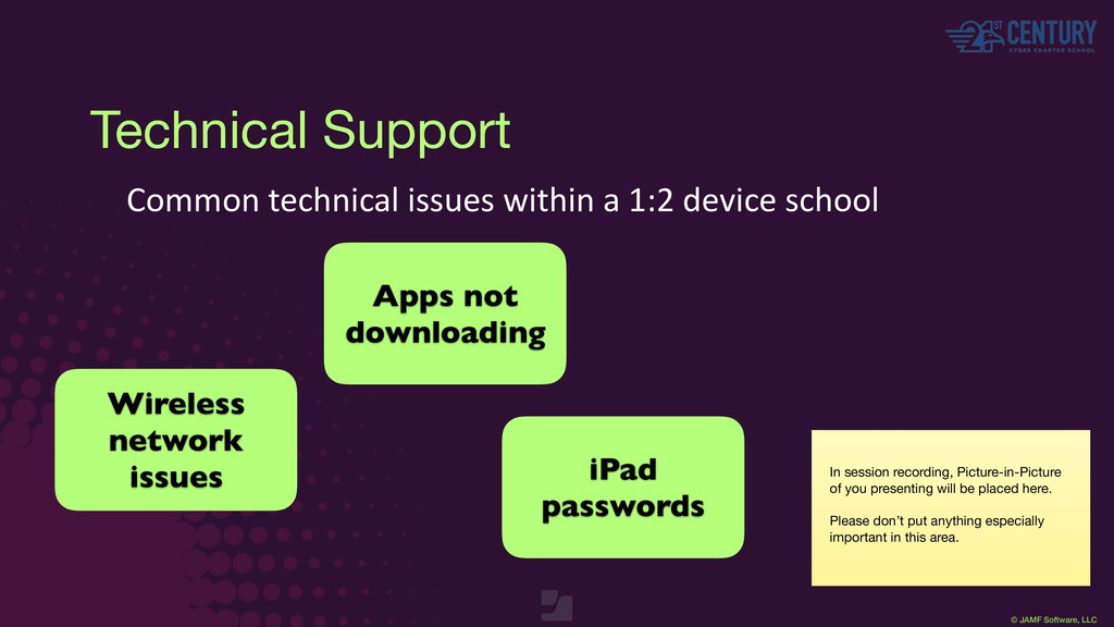 © JAMF Software, LLC Technical Support Common t...