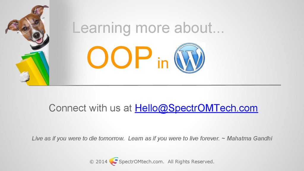 © 2014 SpectrOMtech.com. All Rights Reserved. C...