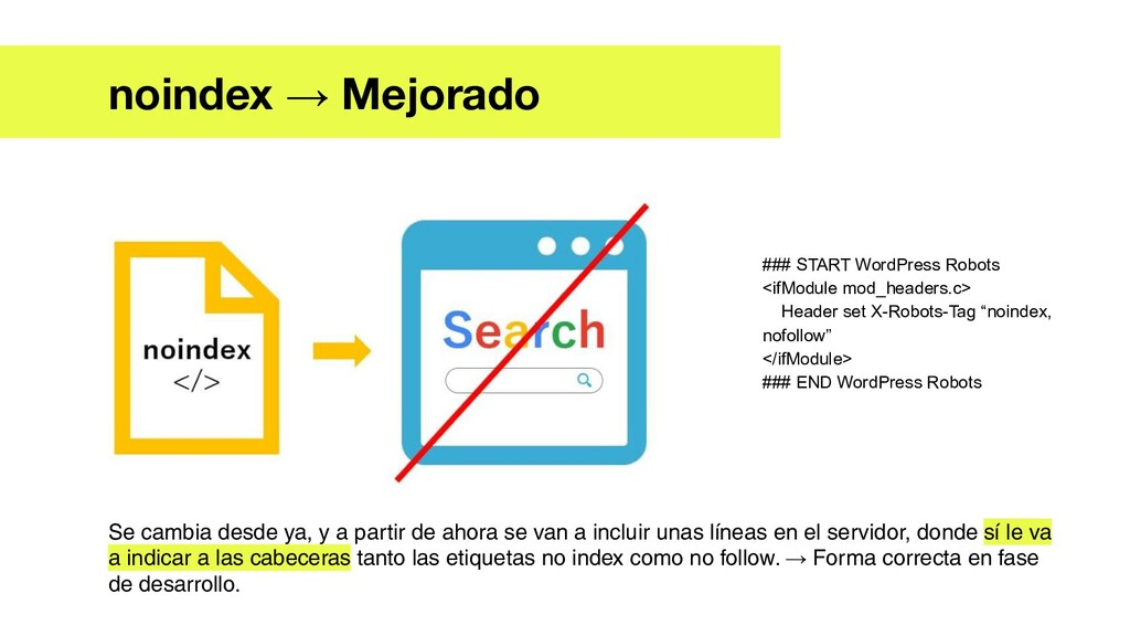 noindex → Mejorado ### START WordPress Robots <...