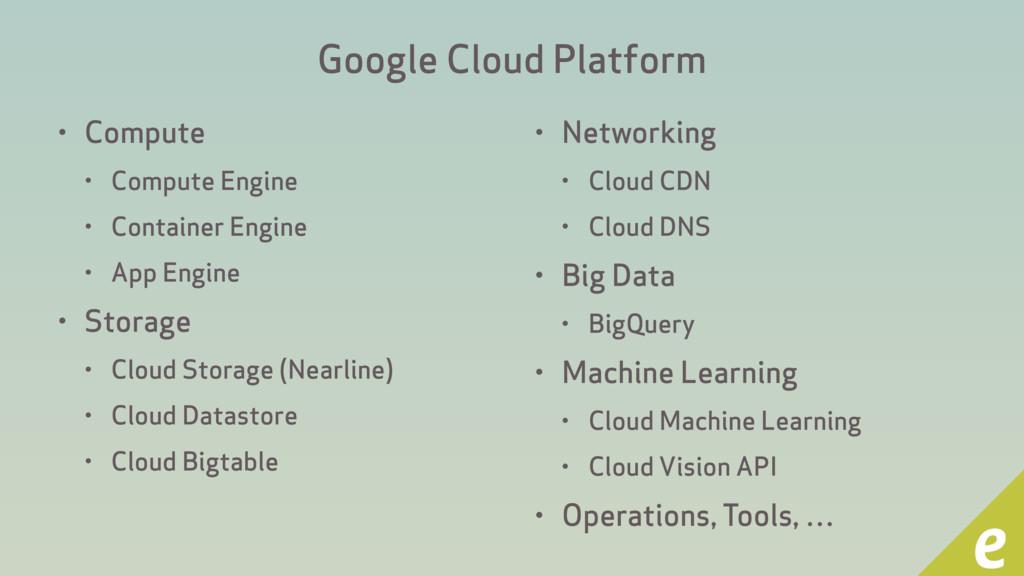 Google Cloud Platform • Compute • Compute Engin...