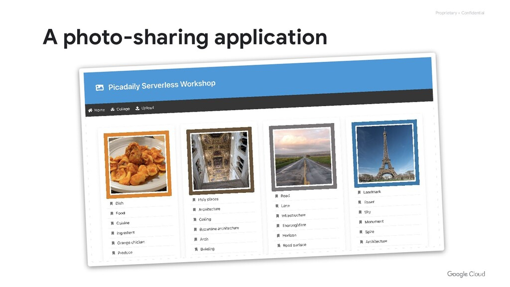 Proprietary + Confidential A photo-sharing appl...