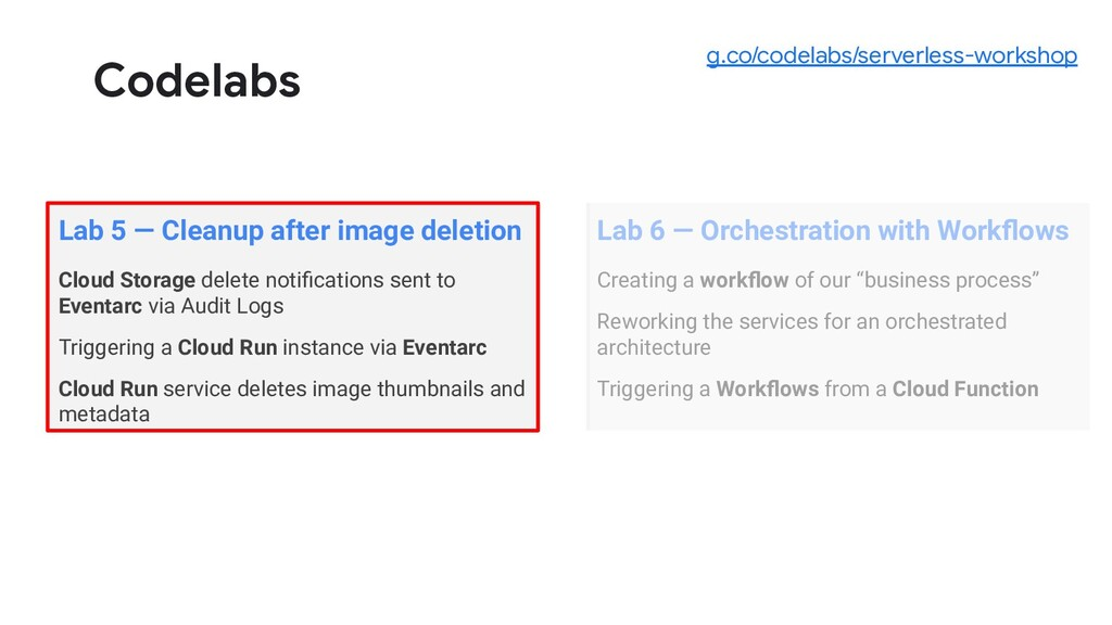 Codelabs Lab 5 — Cleanup after image deletion C...