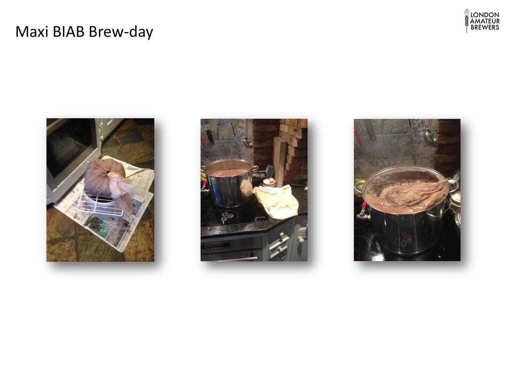 Maxi BIAB Brew-day