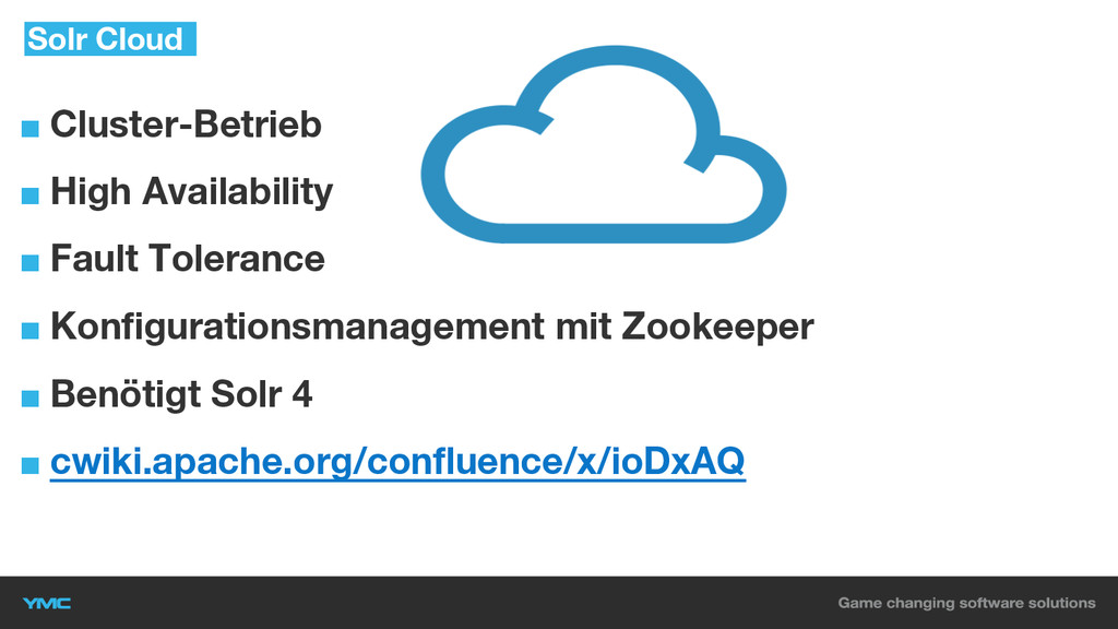 ■ Cluster-Betrieb ■ High Availability ■ Fault T...