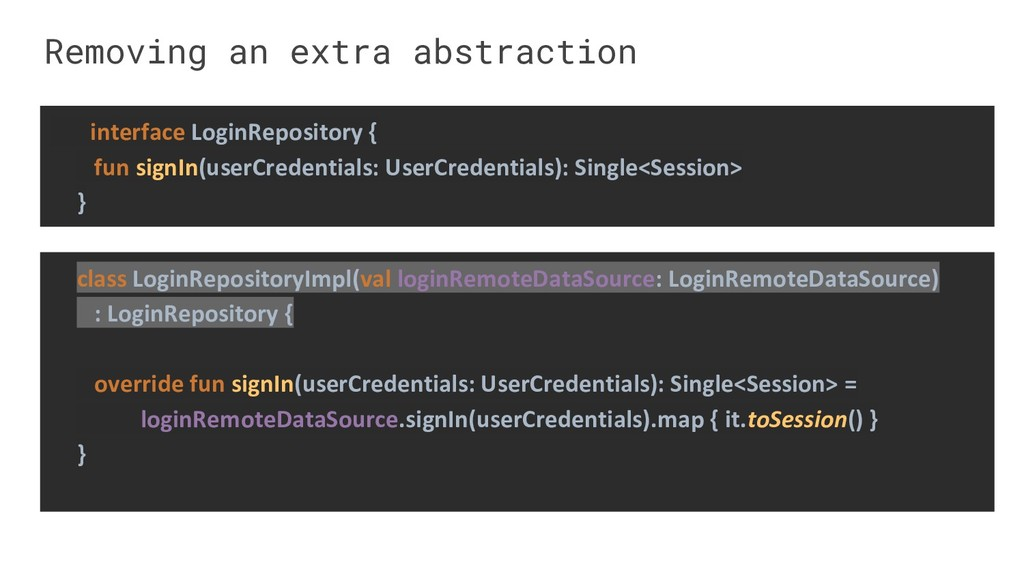 Removing an extra abstraction class LoginReposi...