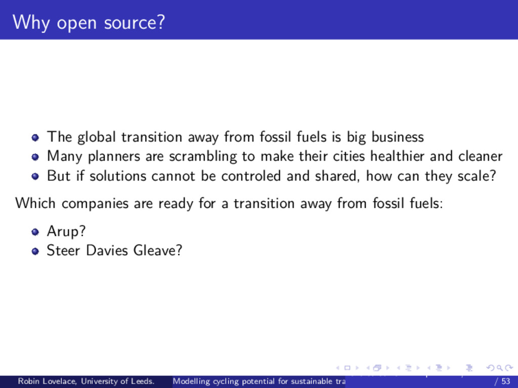 Why open source? The global transition away fro...