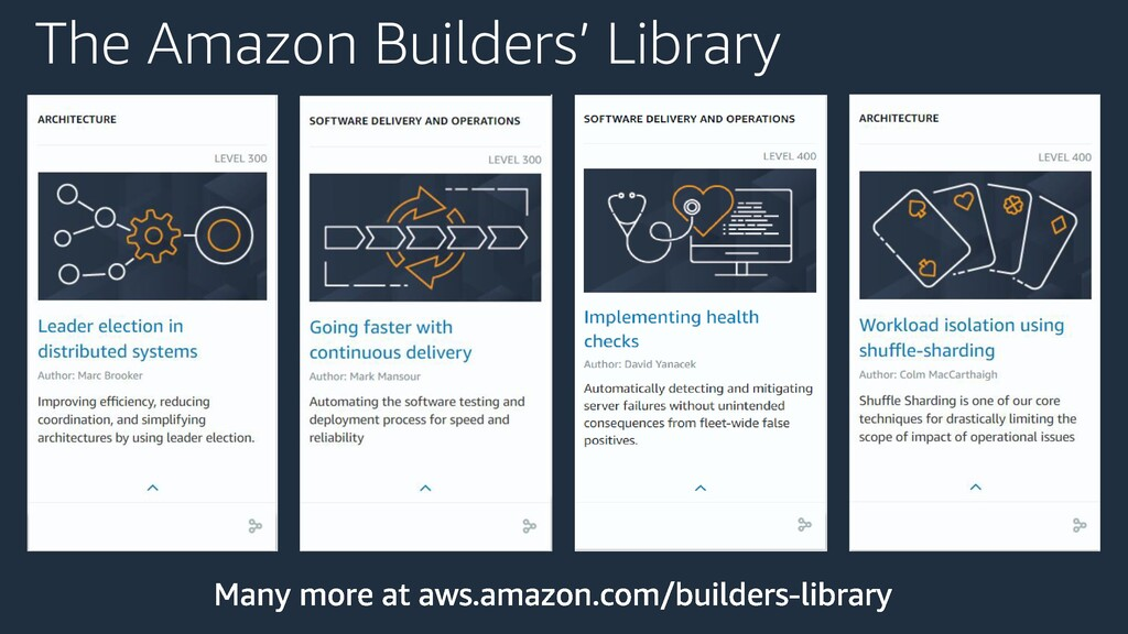 The Amazon Builders' Library