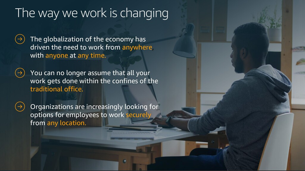 The way we work is changing The globalization o...