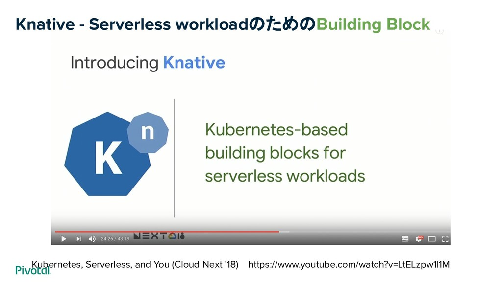 Kubernetes, Serverless, and You (Cloud Next '18...