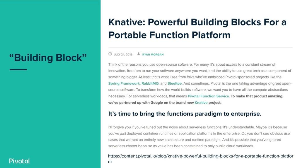 """Building Block"" https://content.pivotal.io/blo..."