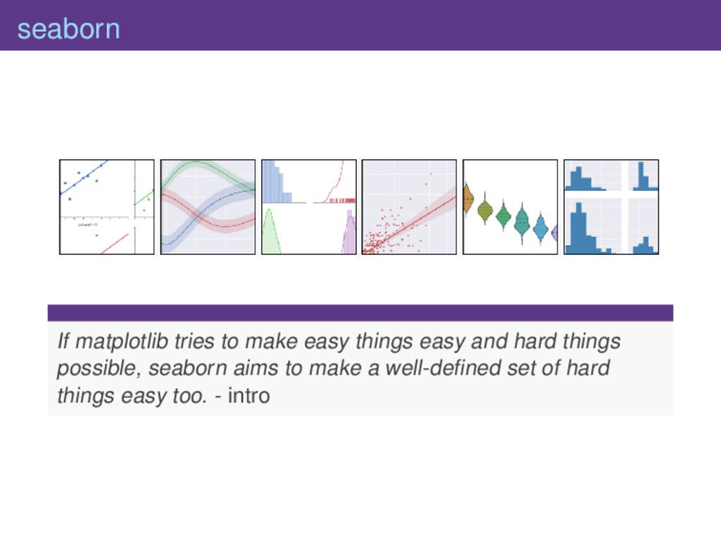 seaborn If matplotlib tries to make easy things...