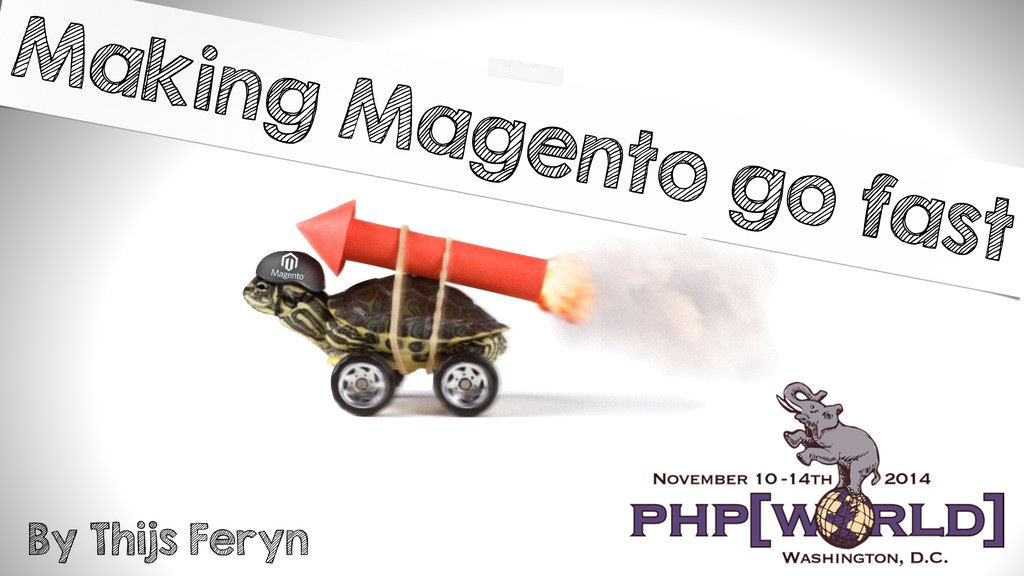 Making Magento go fast By Thijs Feryn