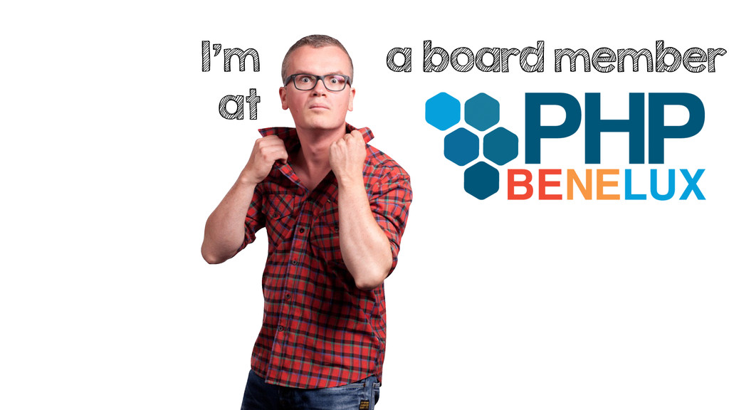 I'm at a board member