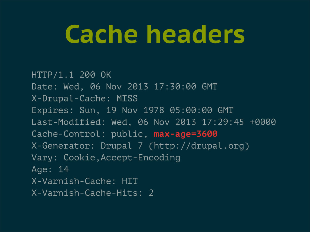 Cache headers HTTP/1.1 200 OK Date: Wed, 06 Nov...