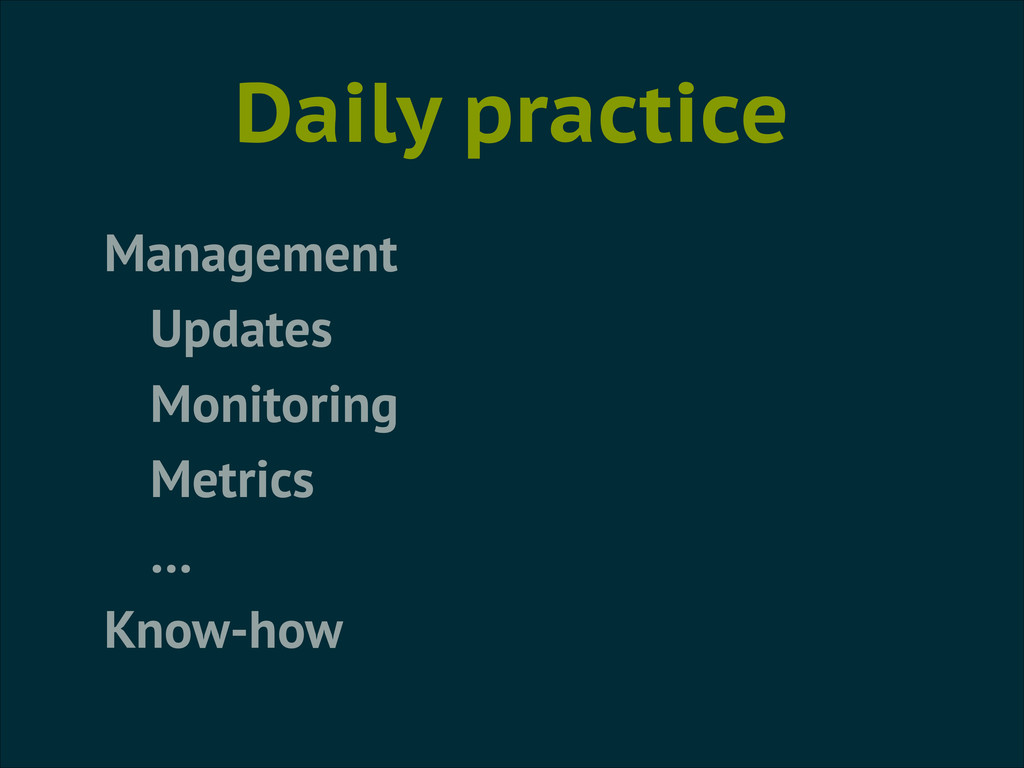 Daily practice Management Updates Monitoring Me...