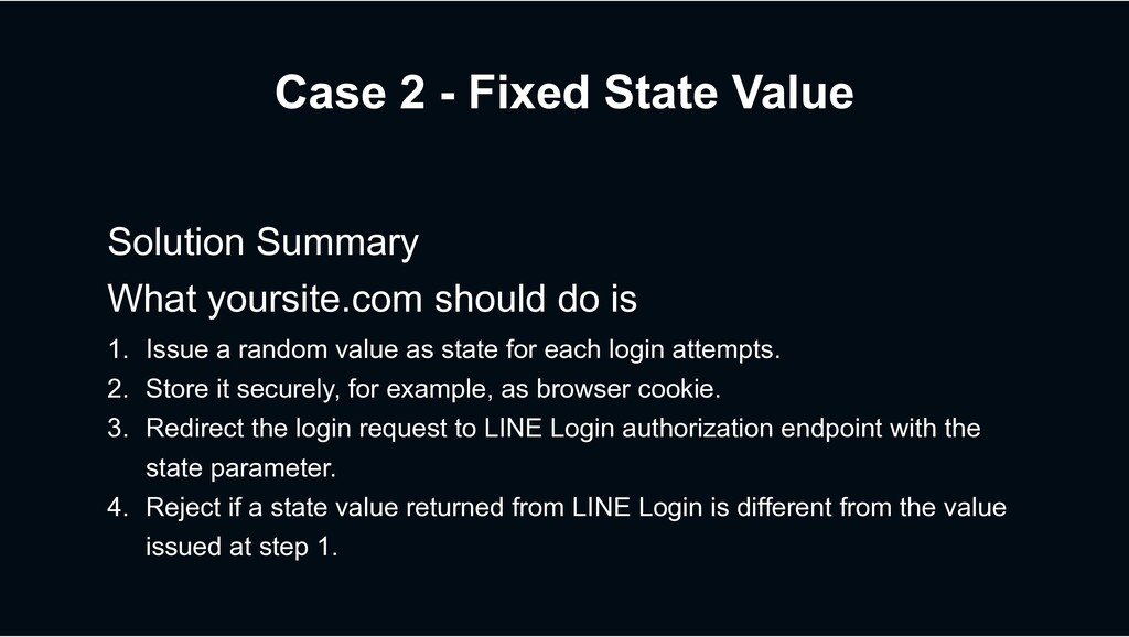 Case 2 - Fixed State Value Solution Summary Wha...