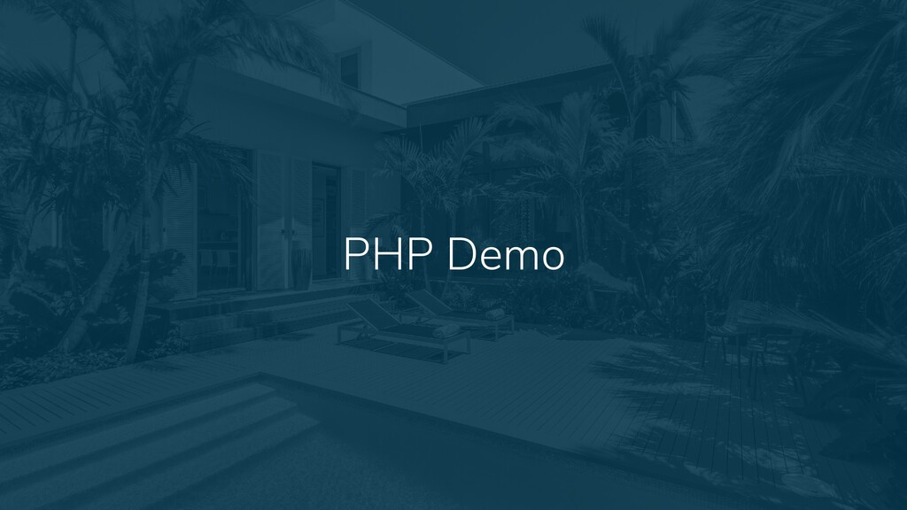 13 PHP Demo