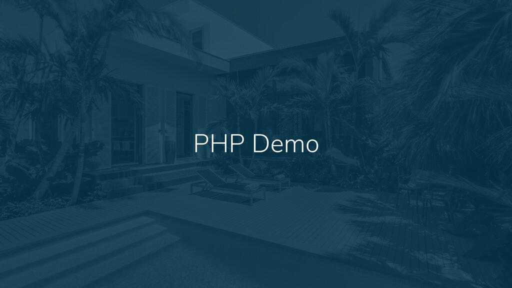 16 PHP Demo