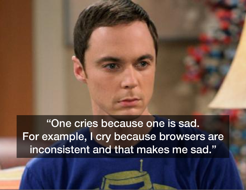 """One cries because one is sad. For example, I c..."