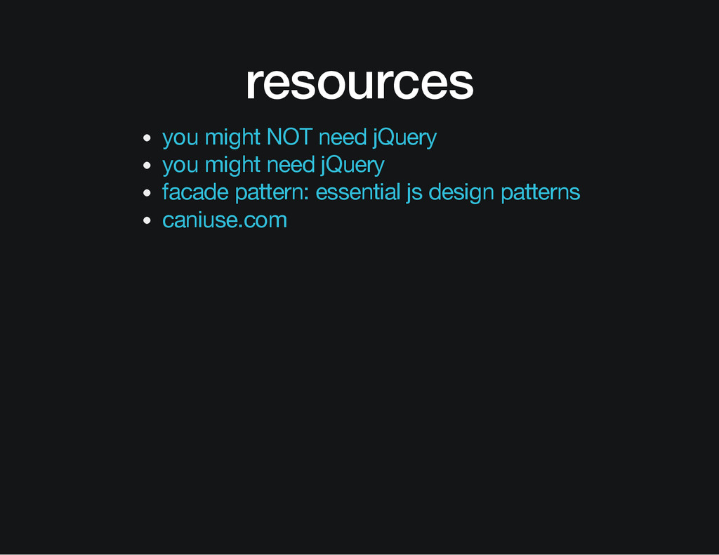 resources you might NOT need jQuery you might n...