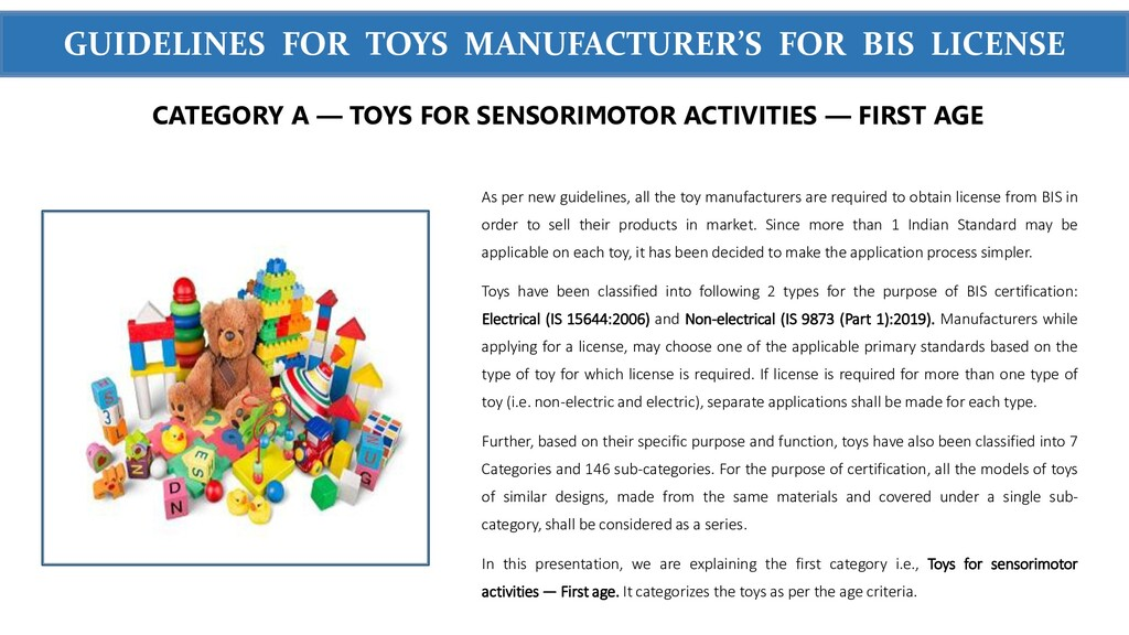 WWW.SIGMATEST.ORG GUIDELINES FOR TOYS MANUFACTU...