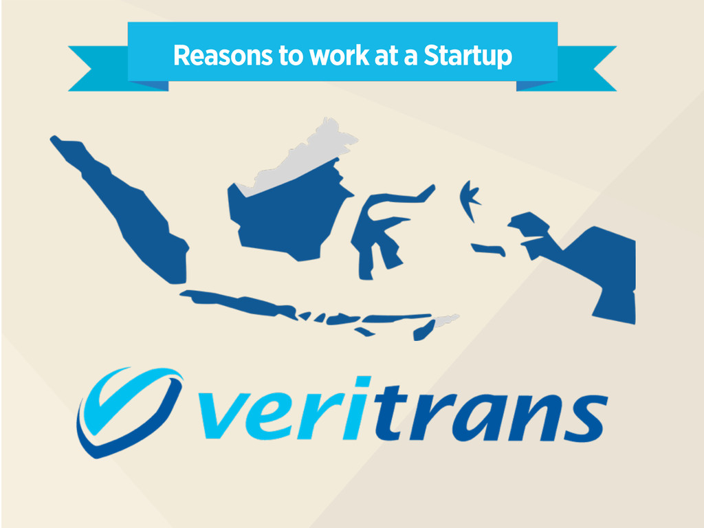 Reasons to work at a Startup