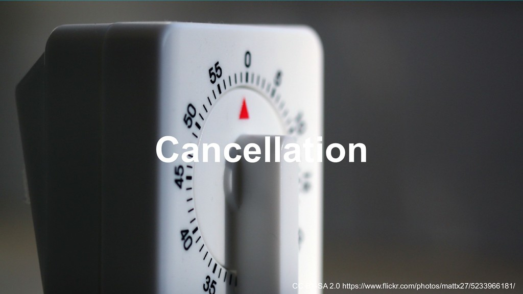20 Cancellation CC BY-SA 2.0 https://www.flickr...
