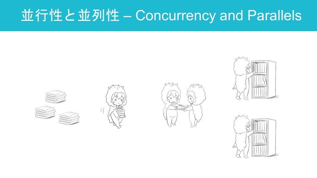 並行性と並列性 – Concurrency and Parallels 35