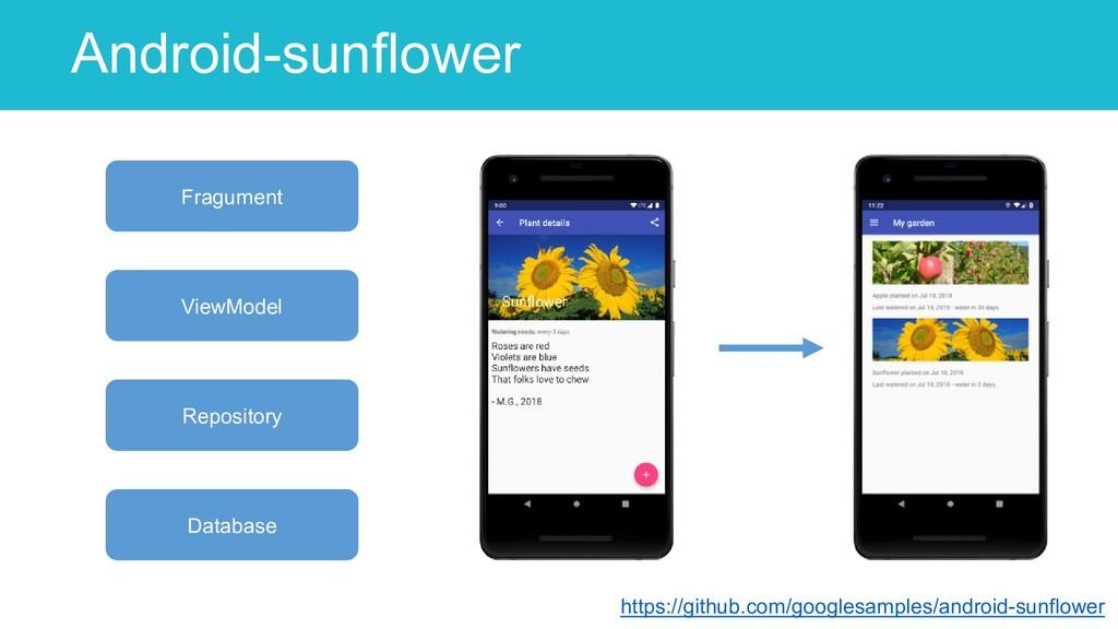 Android-sunflower 53 https://github.com/googles...