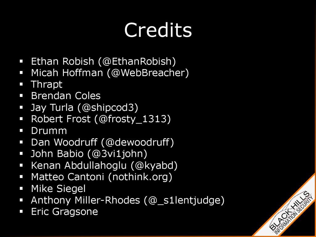 Credits § Ethan Robish (@EthanRobish) § Mic...